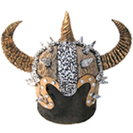 Deluxe Latex Viking Helmet (Style A)