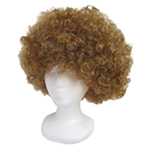 Economy Brown Afro Wig