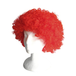 Economy Red Afro Wig