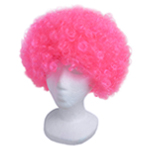 Economy Pink Afro Wig