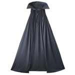 "54"" Fully Lined Deluxe Black Cape"