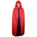 Red Cloak with Large Hood