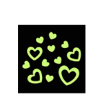 Glow In The Dark Hearts (Style A)