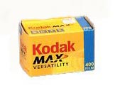 Kodak Max 400 Versatility Color Print Film 35mm x 24 exp.