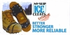 W-IGP-300 NO-SLIP ICE CLEATS IN RETAIL BOX