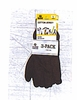 3401-B3  MENS BROWN JERSEY GLOVES ( 3 PACKS)