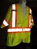 75-3301 DELUXE QUALITY CLASS 3 HIGH VISIBILITY VESTS