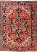 Magnificent Antique Heriz Rug