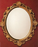 French Style Gold Mirror