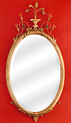 Elegant Oval Mirror