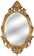 Formal Oval Mirror