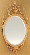 Oval Adam Design Mirror