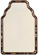 Hand-painted Chinoiserie Mirror