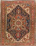Antique Heriz Persian Rug