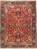 Masterpiece Antique Heriz Oriental Rug