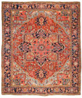 Masterpiece Antique Heriz Rug