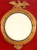 Federal Mirror with Eagle