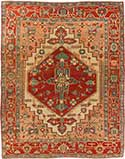 Magnificent Antique Serapi Rug
