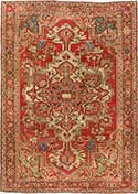 Stunning Antique Serapi Rug