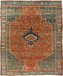 Early Antique Serapi Rug