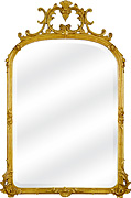 Ornate Gold Mirror