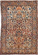 Antique Ferahan rug