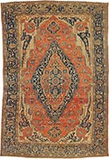 Antique Mohtashem rug