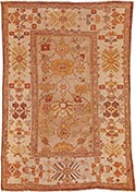 Antique Ziegler rug