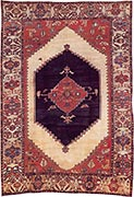 Antique Bakhshaish rug