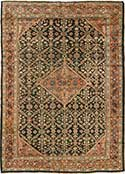 Mahal Antique Oriental Rug