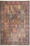 Antique Tabriz Garden Carpet Rug