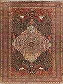 Beautiful Antique Bakhtiari Oriental Rug