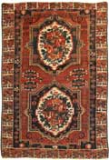 Antique Oriental Bakhtiari Rug