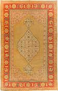Rare Antique Agra Oriental Rug