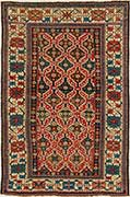 Kuba Antique Oriental Rug