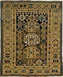 Antique Kuba Oriental Rug