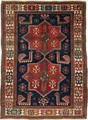 Antique Akstafa Caucasian Rug