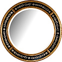 Gold and Silver Mirror