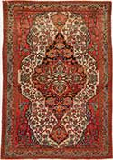 Antique Malayer Oriental Rug