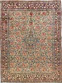 Antique Kerman Oriental Rug