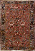 Traditional Heriz Persian Rug
