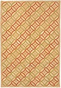 Hand Hooked Rug  - Egyptian Lattice