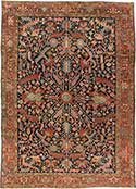 Knockout Antique Heriz Rug