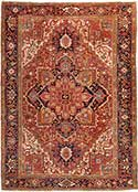 Classic Antique Heriz Carpet