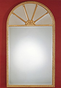 Gilt Fanlight Window Mirror