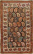 Antique Kazak Oriental Rug