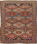 Antique Soumac Oriental Rug
