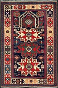 Lesghi prayer rug