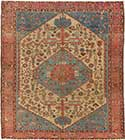 Antique Bakshaish Oriental Rug