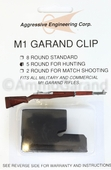 M1 Garand 5 Round Clip Hunting New US made Clips
